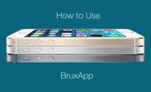 Come di usa Bruxapp